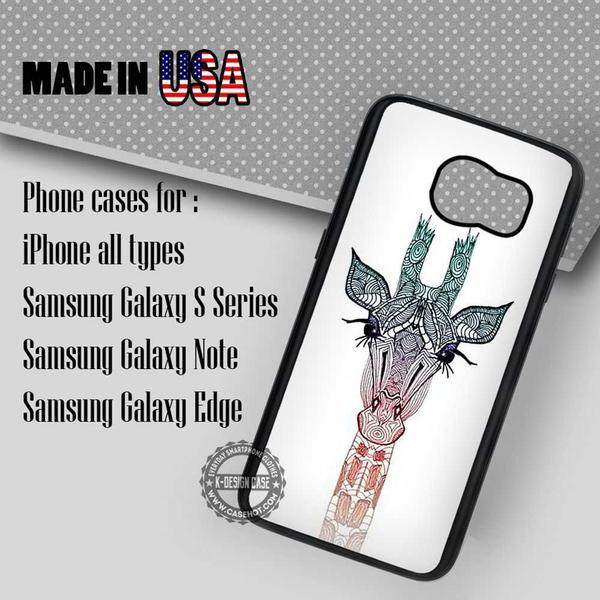 Samsung S7 Case - Giraffe Ornate - iPhone Case #SamsungS7Case #art #yn
