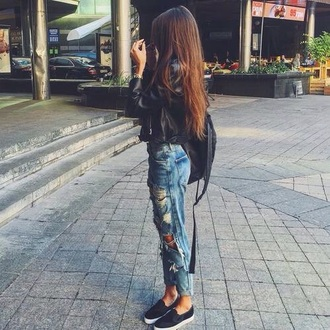 jeans ripped jeans style scrapbook