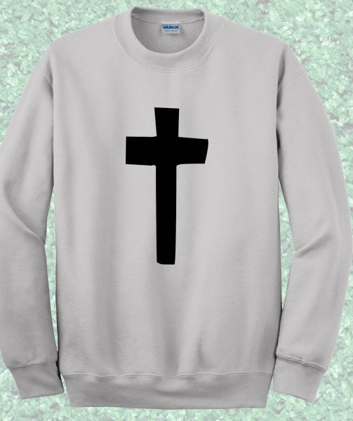 Cross Crewneck Sweatshirt – Mpcteehouse.com
