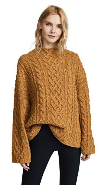 MILLY sweater oversized bee