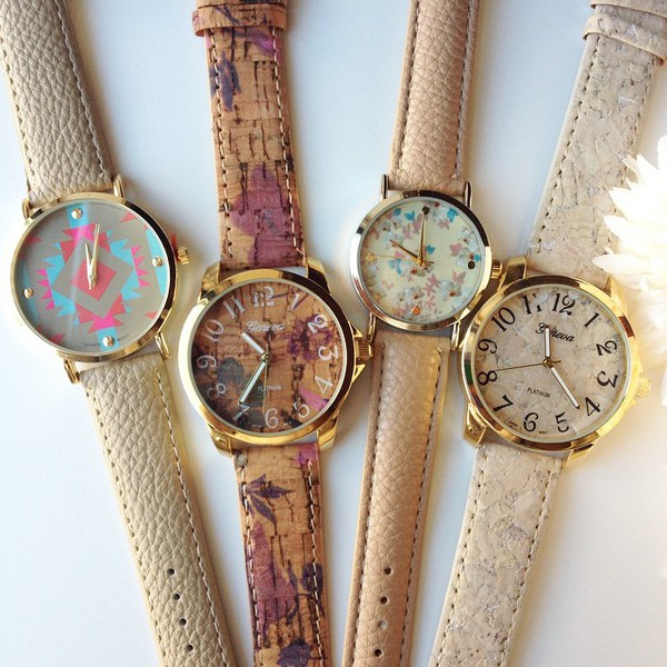 jewels fall outfits watch aztec ishopcandy khaki brown watch floral