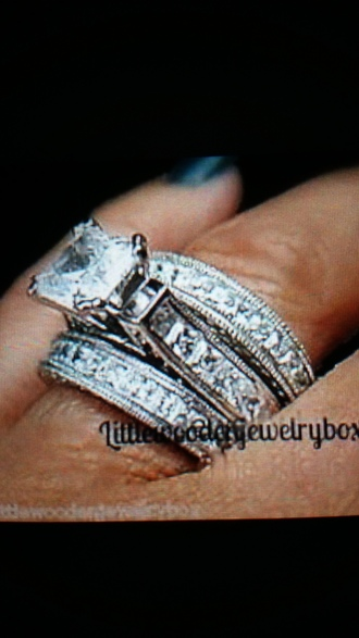 jewels engagement ring white gold the bling ring