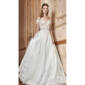 dress,tarik ediz dress,embroidery wedding dresses,shoulder bag,it girl shop,ivory dress