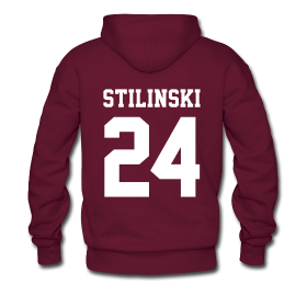 """STILINSKI 24"" - Hoodie (XL Logo, NBL) 