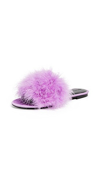 KENDALL + KYLIE light purple shoes