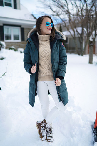 covering bases curvy blogger coat jeans shoes jewels make-up