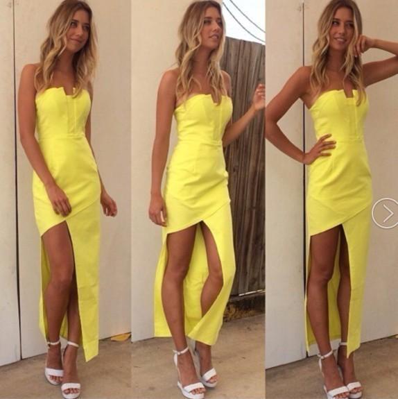 Fashion the new double harness chiffon sleeveless dresses