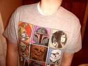 star wars,bobba fett,r2d2,t-shirt,han solo,stormtrooper,chewbacca,wookie,yoda,darth vader,obi-wan kenobi,george lucas,movie,drawings,sex,grey t-shirt,brown t-shirt,blue t-shirt,red t-shirt,green t-shirt,pink t-shirt,yellow t-shirt