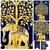 Indian Elephant Golden Tree Hippie Ethnic Bohemian Psychedelic Handmade Tapestry