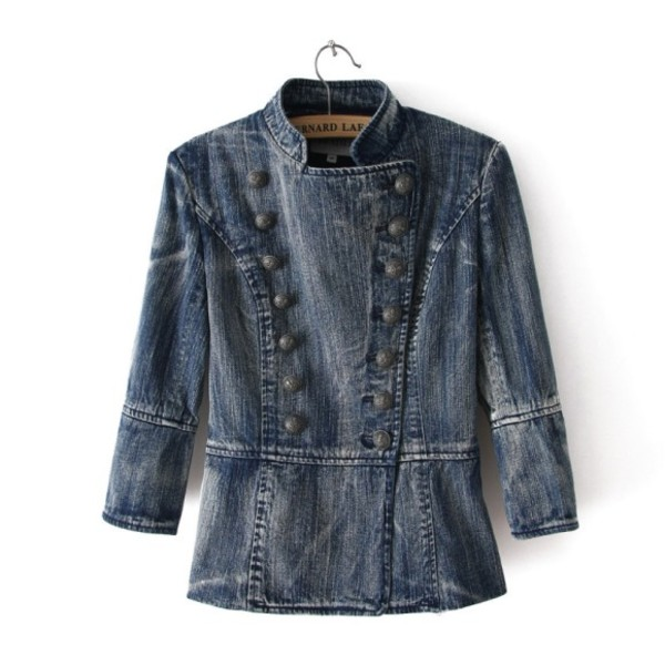 jacket denim jeans women style coat