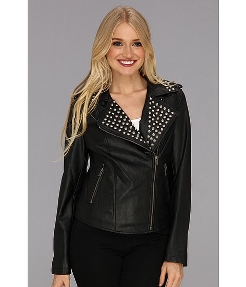 TWO by Vince Camuto Studded Moto Jacket - Zappos.com Free Shipping BOTH Ways