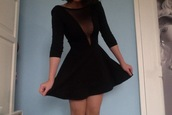 dress,sheer,skirt,clubwear,prom,party,black dress,transparent,black