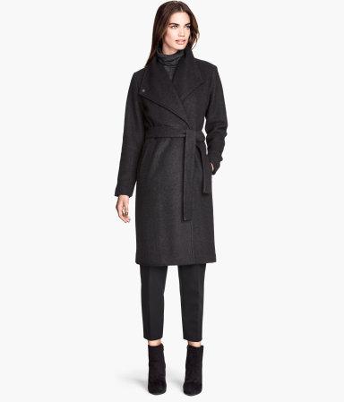 H&M Wool-blend Bouclé Coat $65