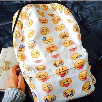 bag emoji backpack fun