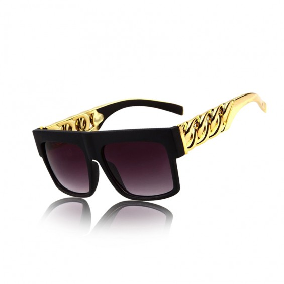BOOGZEL | Golden Chain Sunglasses
