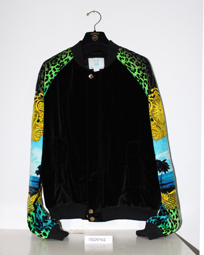 Versace H M Bomber Jacket Size L Brand New with Tag Bag and Dust Bag | eBay