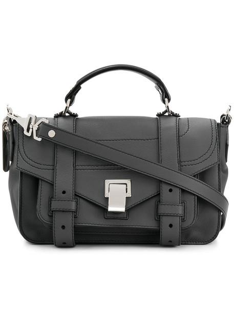 Proenza Schouler satchel women leather grey bag