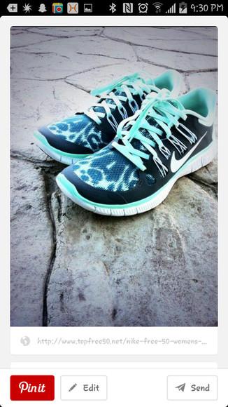 mint shoes nike free run