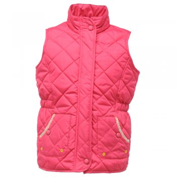 Regatta Girls Jojo Quilted Fleece Bodywarmer Jem