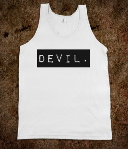 shirt quote on it cool tank top