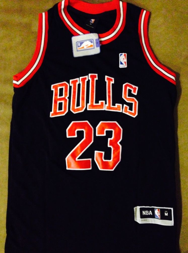 Brand New Chicago Bulls JORDAN Black JERSEY #23 EXTRA LARGE - AUS STOCK**