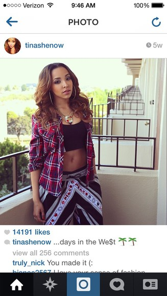 pants cute black and white colorful harem pants tinashe style flannel