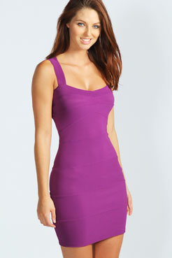 Candy bodycon dress at boohoo.com