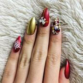 nail polish,holiday nail art,christmas,holiday season,holidays nail art,nails,nail art,nail accessories