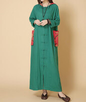 dress,hooded maxi dress