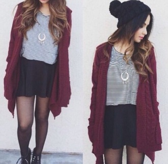 shirt red black white gold jacket shoes leggings home accessory jewels cardigan hat