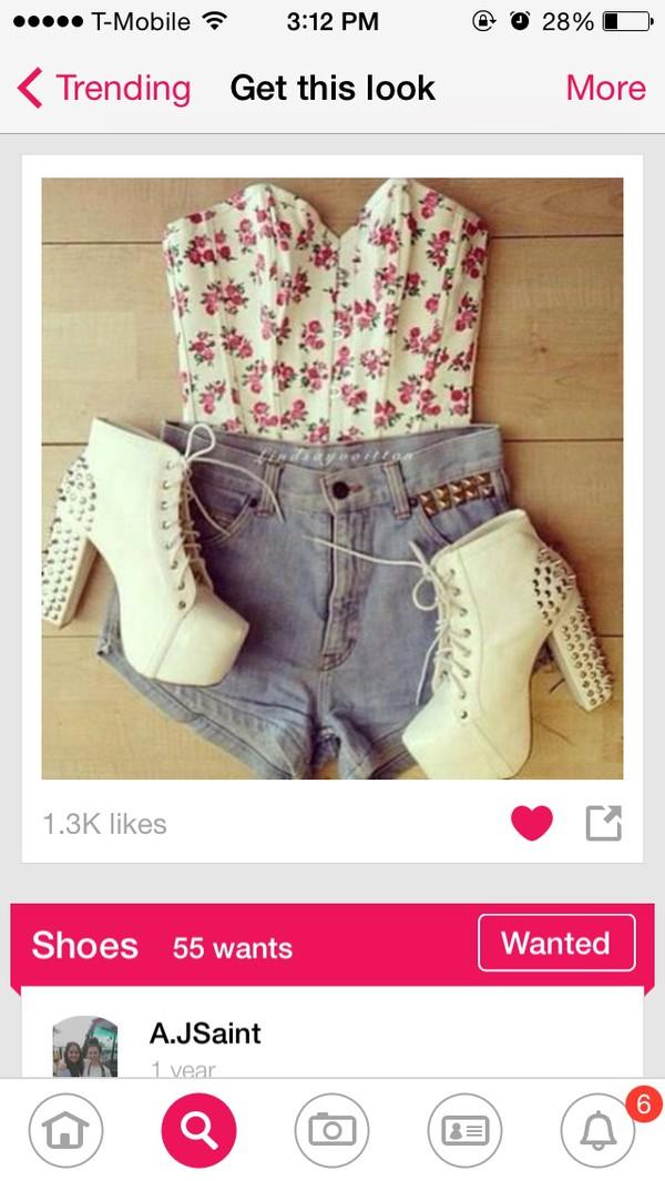 blouse shoes shirt