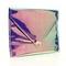 Rainbow hologram envelope clutch   shop art wednesday