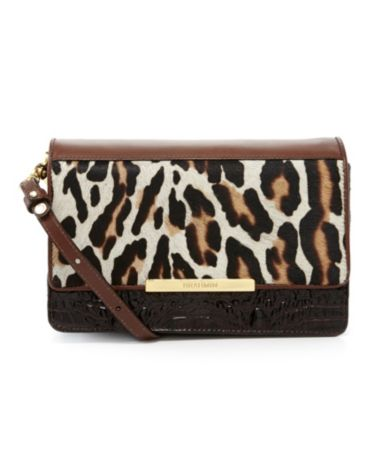 Brahmin Morrison Collection Hudson Hair Calf Convertible Cross-Body Bag | Dillards.com