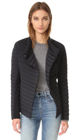 jacket matte black