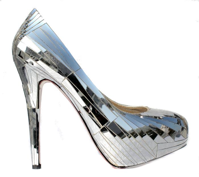 112.99 dressv.com supplies glittering silver platform stiletto heels closed