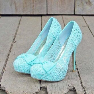 shoes lace blue bows spring2015