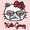 """hello grumpy "" t-shirts & hoodies by karmadesigner   redbubble"