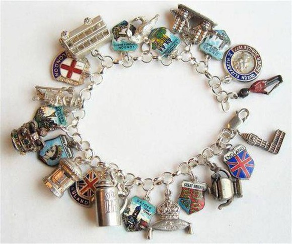 union jack england jewels uk united kingdom bracelet london
