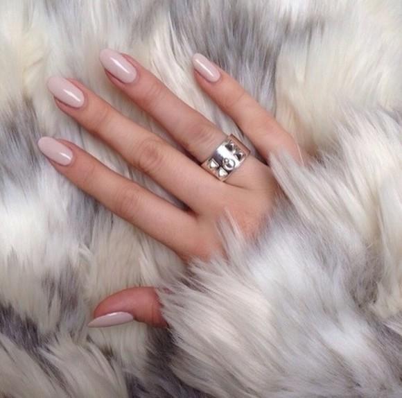 nail polish jewels ring