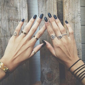 nail accessories ring gold silver rings shoes