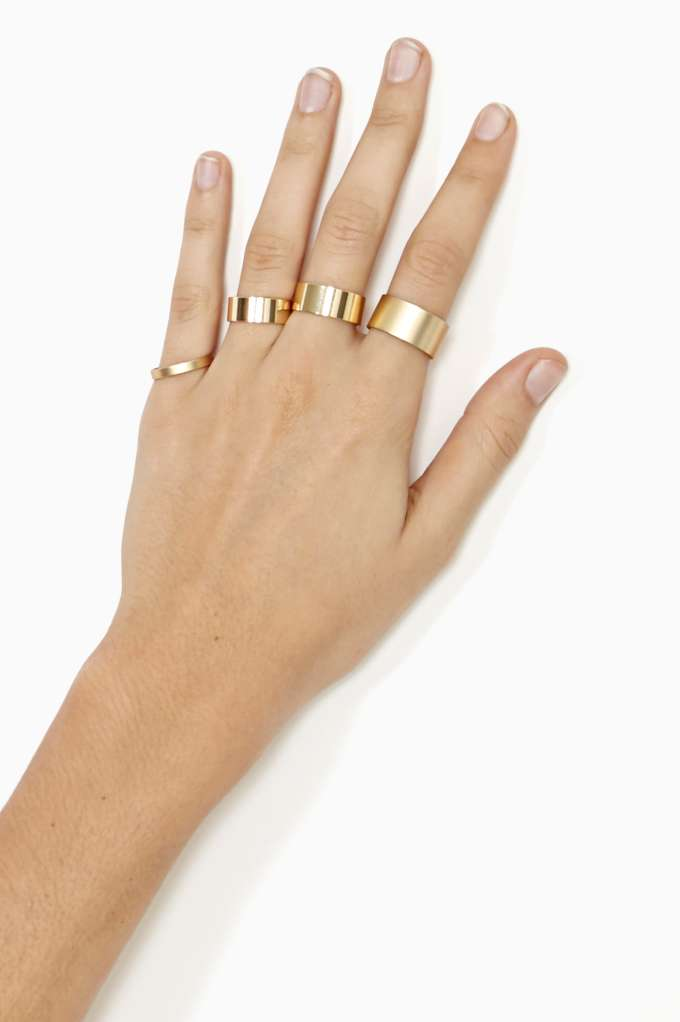 Genesis Ring Set in  Accessories at Nasty Gal