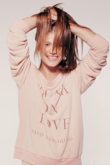Wildfox Couture -  DRUNK ON LOVE (AND MARGARITAS) BAGGY BEACH JUMPER