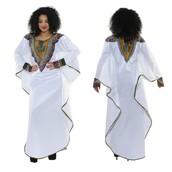 dress,ethnic,ethnic dresses,batwing sleeve dress,asymmetrical,long dress,white long dress,long sleeves white dress,long sleeve dress,long sleeves