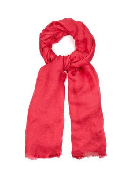 S MAX MARA scarf pink