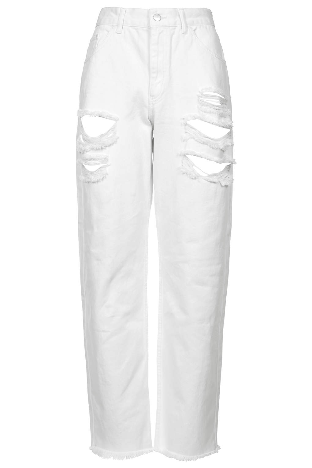 **low rise ripped boyfriend jeans by marques'almeida x topshop