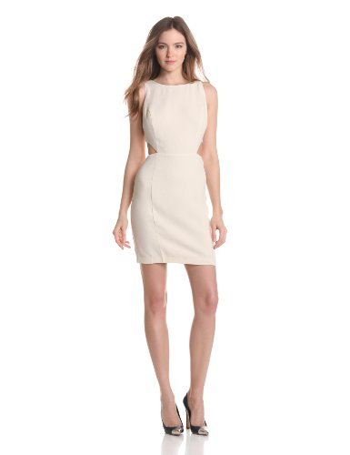 aryn K Women s Sheath Dress Width Cut Outs