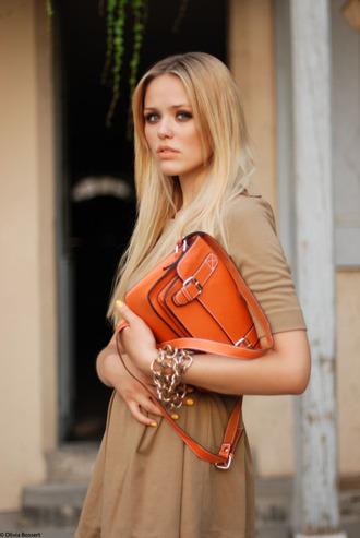 kayture satchel bag orange bag