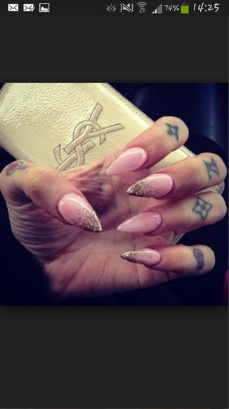nail accessories rose nail polish louis vuitton paillet