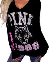 top,pink by victorias secret,long sleeve shirt,long sleeve top,vs hoodiw,vs sweats,victorias secret love pink clothing,victorias secret sweats,ebay,victoria's secret,vs pink hoodie,vs angel,victorias secret top