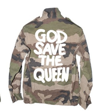 Parka god save the queen